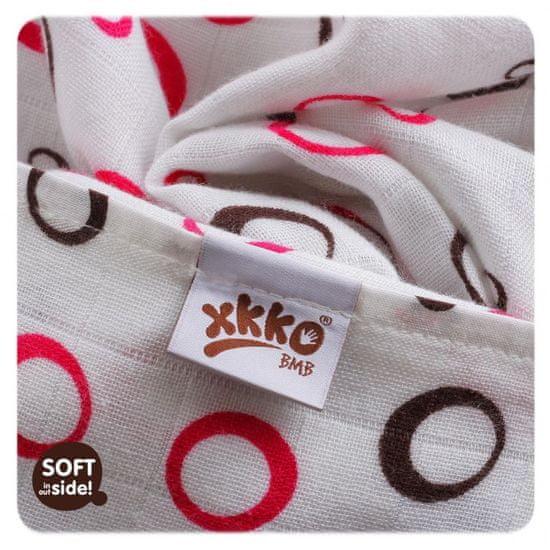 XKKO Bambusowy ręcznik 90x100cm Bubbles - Bąbelki