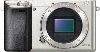 Sony Alpha 6000 Body Silver (ILCE6000S.CEC)