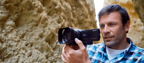 SONY FDR-AX100E Digitális videókamera