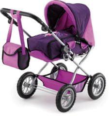 Bayer Design voziček za punčke Kombi Grande, vijoličen