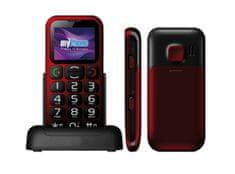 myPhone 1045 Simply + czerwony