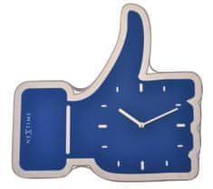 NEXTIME Zegar ścienny Facebook Like