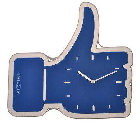 NEXTIME Zegar ścienny Facebook Like 3072bl