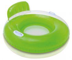 Intex napihljiv okrogli fotelj, zelen