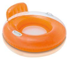 Intex napihljiv obroč Stol, oranžen
