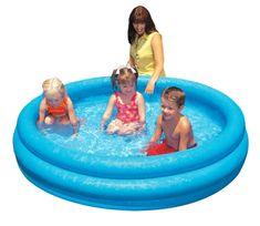 Intex Dmuchany basen, niebieski