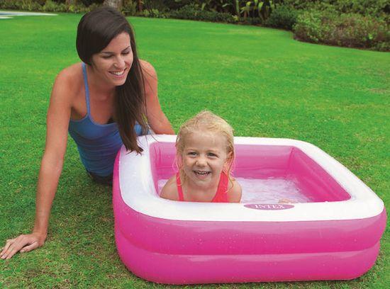 Intex 57100 Dětský bazének růžový