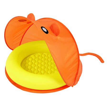 Bestway Nafukovací bazénik so strieškou oranžová