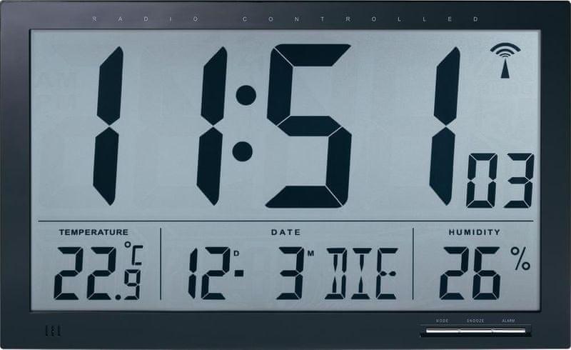 Conrad DCF nástěnné hodiny Jumbo 404664