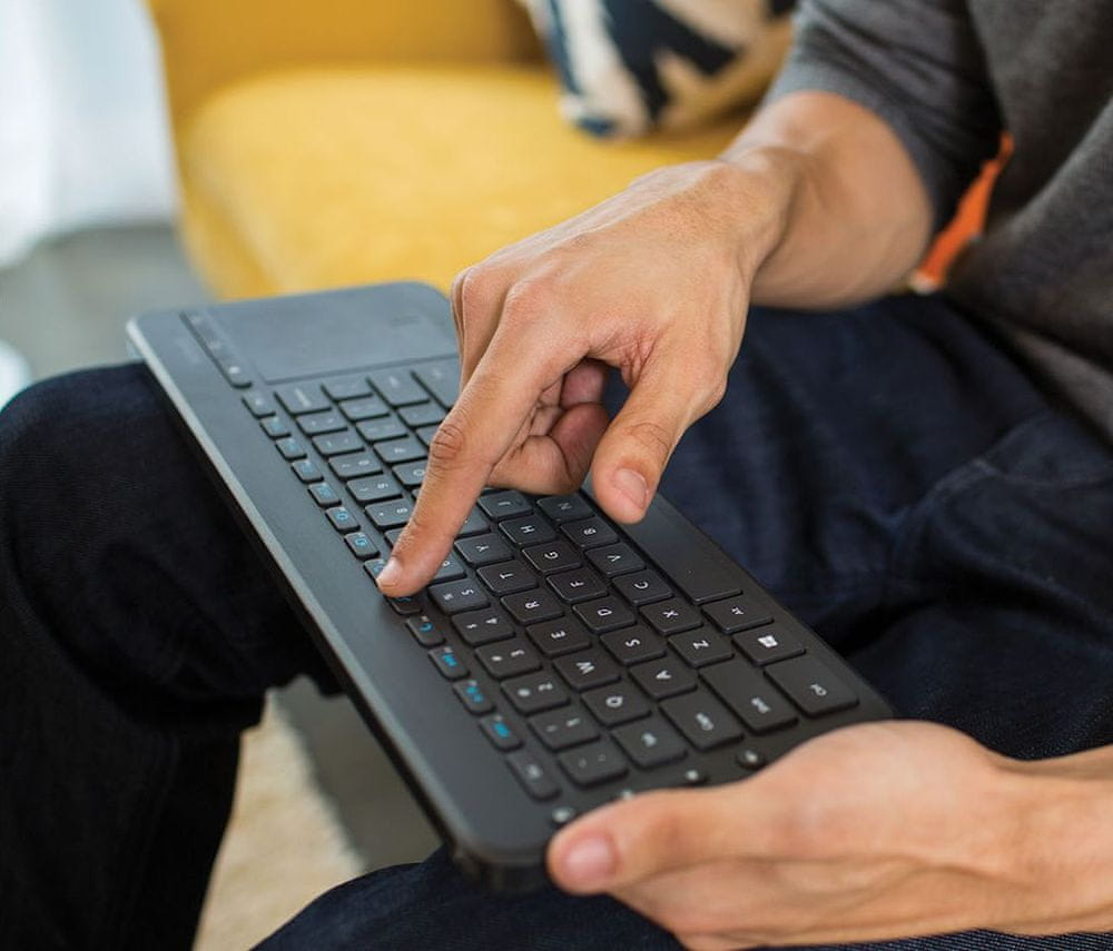 Microsoft All-in-One Media Keyboard Cz/Sk (N9Z-00020) - rozbaleno