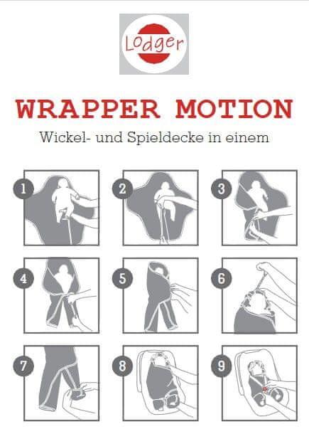 Lodger Zavinovačka Wrapper Motion Cotton, Air