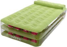 Intex napihljiva postelja Take Along, z vgrajeno črpalko