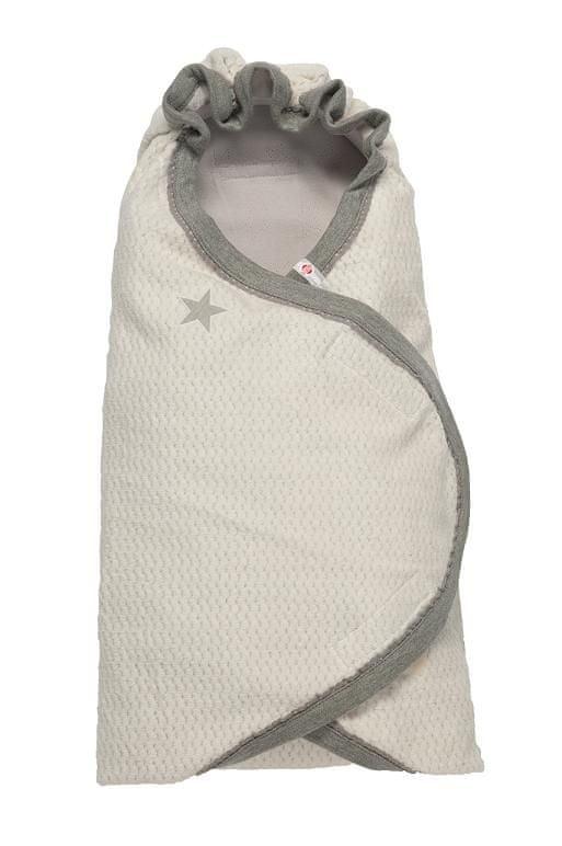 Lodger Zavinovačka Wrapper Newborn Cotton, Milk