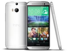 HTC One (M8) 16 GB, strieborný