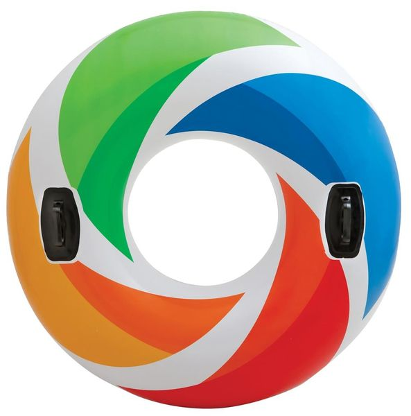 Intex 58202 Kruh Color s držadly 119 cm