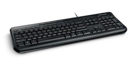 Microsoft tipkovnica 600, črna, slovenska (ANB-00021)