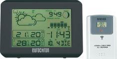 Eurochron Bezdrôtová DCF meteostanica EFWS 801