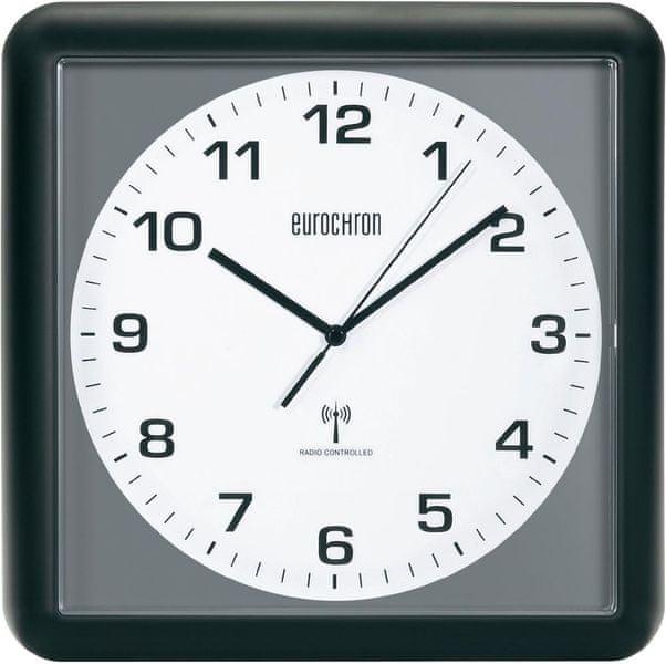 Eurochron Analogové nástěnné DCF hodiny EFWU 5001