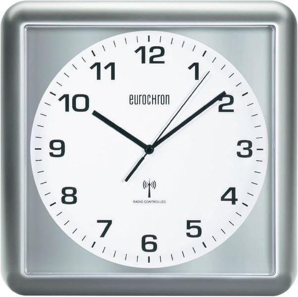 Eurochron Analogové nástěnné DCF hodiny EFWU 5000