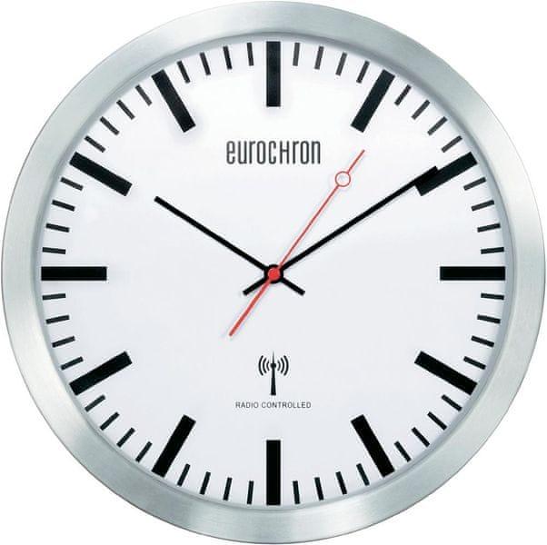 Eurochron Nádražní nástěnné DCF hodiny EFWU 3602