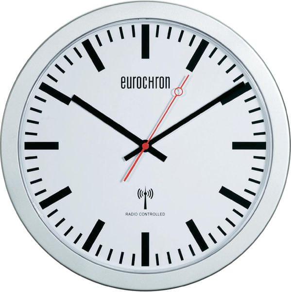 Eurochron Nádražní nástěnné DCF hodiny EFWU 3601