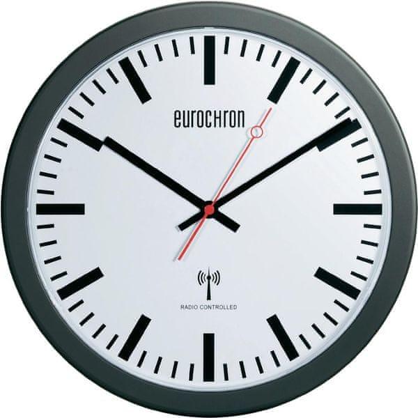 Eurochron Nádražní nástěnné DCF hodiny EFWU 3600