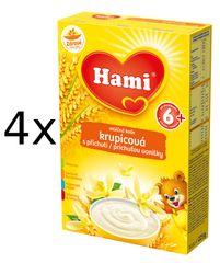 Hami Kaše krupicová s příchutí vanilky 4 x 225g