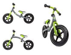 KinderKraft Rowerek biegowy 2WAY zielony