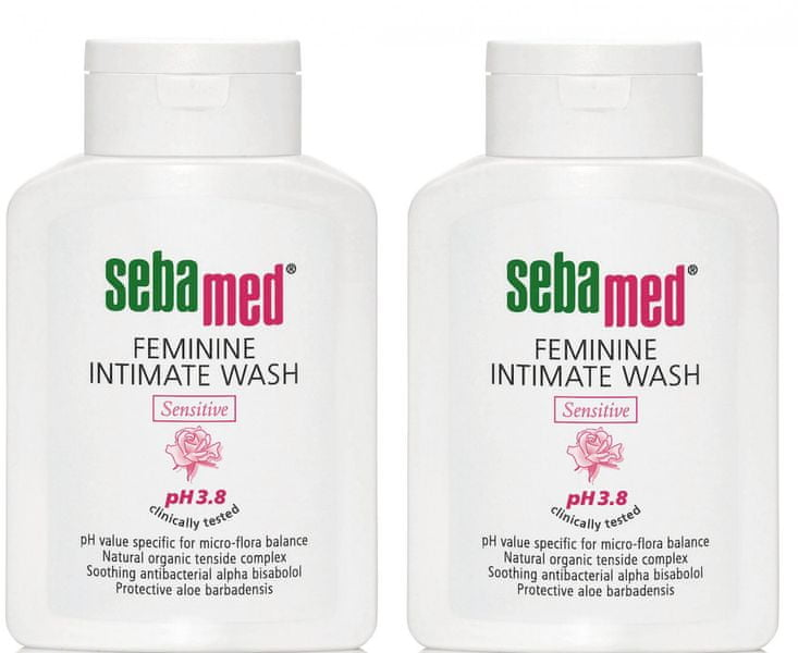 Sebamed Intimní mycí emulze 3,8 2 x 200 ml