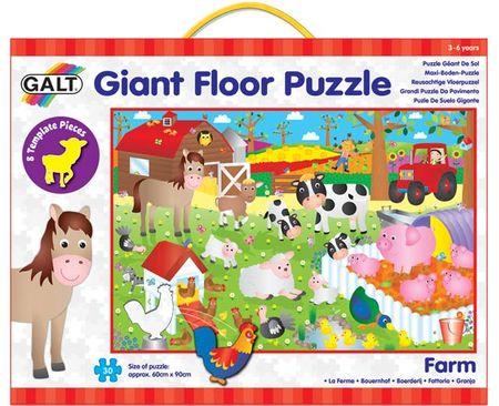 Galt Duże puzzle podłogowe - na farmie, 30