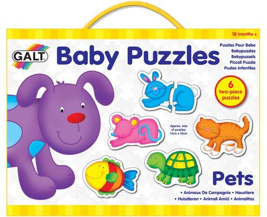 GALT Puzzle pre najmenších - domáci maznáčikovia 2