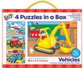 GALT 4 Puzzle v krabici - dopravné prostriedky