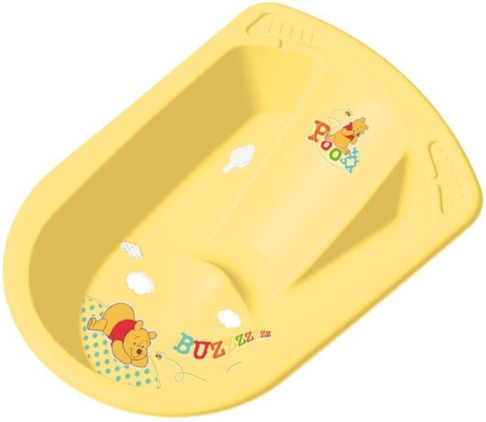 OKT Anatomická vanička Winnie Pooh, žlutá