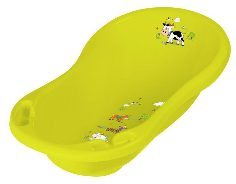 OKT Dětská vanička 84 cm Funny Farm, oranžová