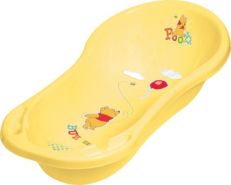 OKT Vanička Winnie Pooh 100 cm se zátkou, žlutá