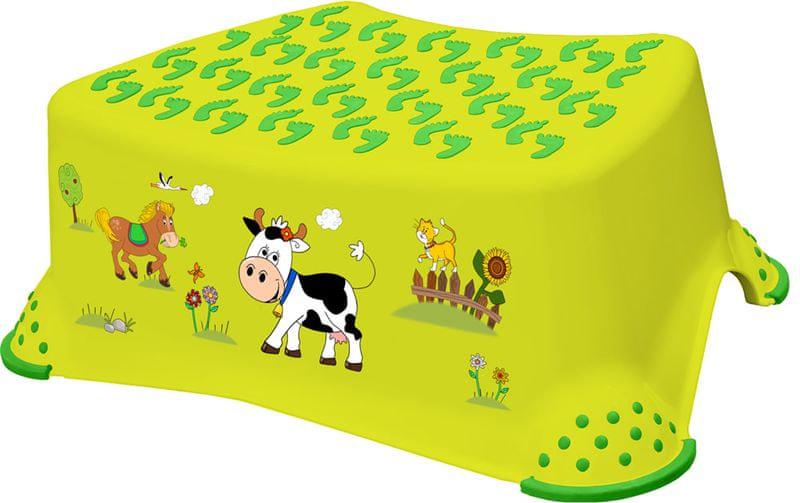 OKT Stupátko Funny Farm, zelená