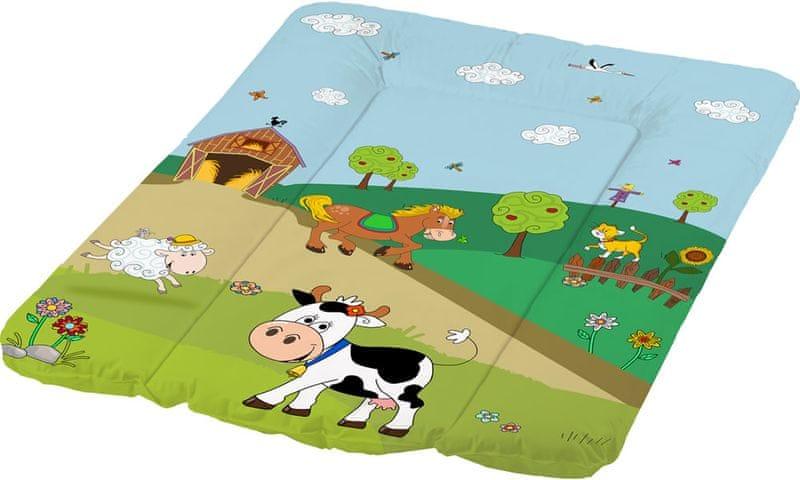 OKT Přebalovací podložka Funny Farm, zelená