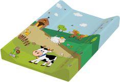 OKT Podložka s pevnou doskou Funny Farm, zelená