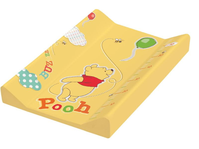 OKT Podložka s pevnou deskou Winnie Pooh, žlutá
