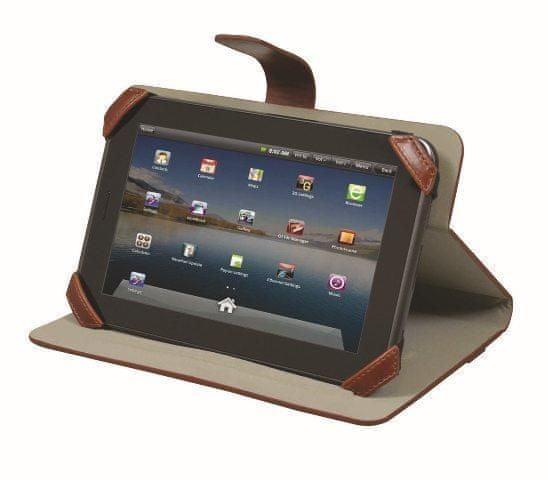 """Port Designs MANILLE univerzální pouzdro na 10"""" tablet, hnědé"""