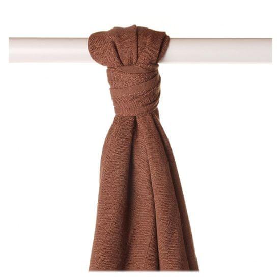 XKKO BMB bambusowy ręcznik/pieluszka 90x100cm - Milk Choco