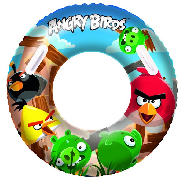 Bestway 96103 Nafukovací kruh Angry Birds