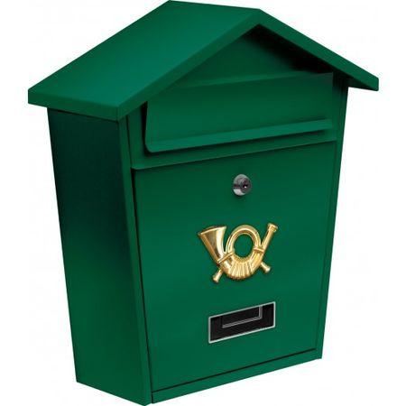 Vorel Skrzynka na listy 380 x 320 x 105 – zielona (78583)