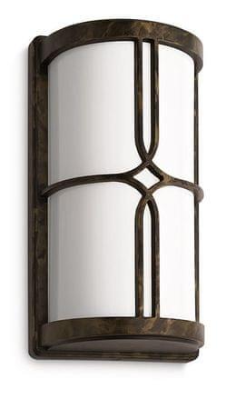 Philips zunanja svetilka 17249, temno bronasta