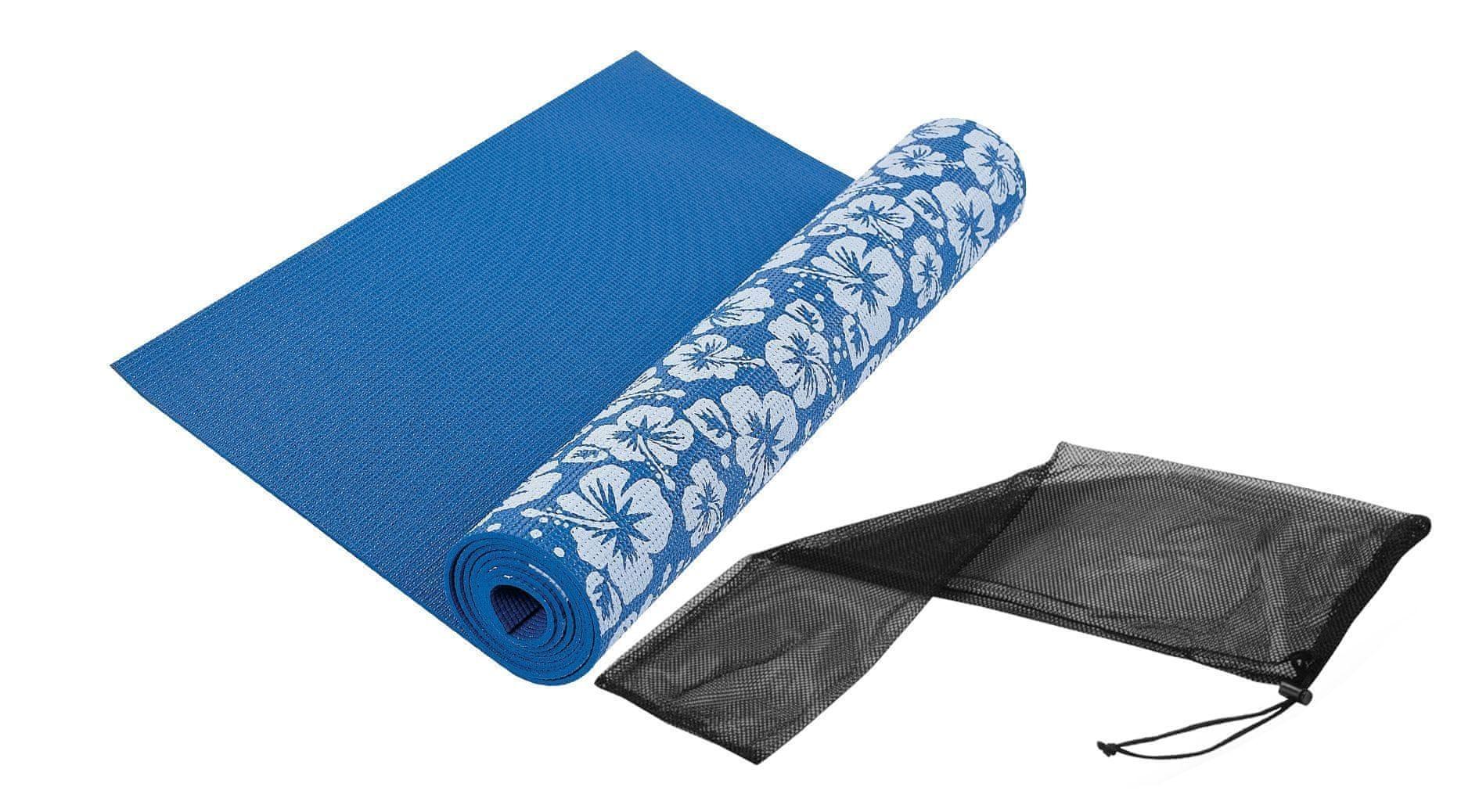Tunturi Yoga Mat Printed Blue