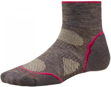 SMARTWOOL W's PhD Outdoor Lt. Mini taupe S