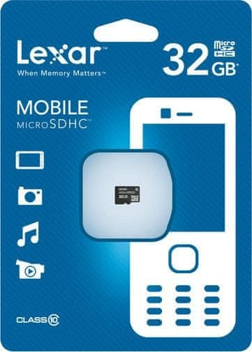 Lexar microSDHC 32GB (Class 10)