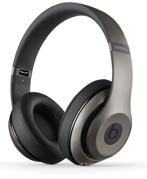 Beats By Dr. Dre Studio Wireless, Titanová mhak2zm/B