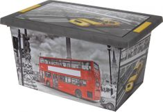 KAISERHOFF Velký box s potiskem Londýna