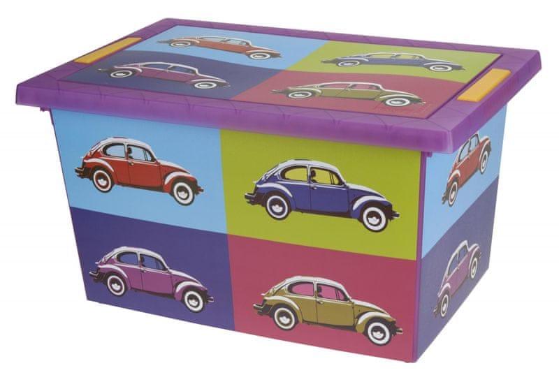 KAISERHOFF Box s potiskem retro auta